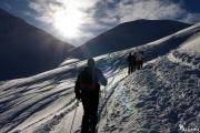 Am Anfang der Skitour
