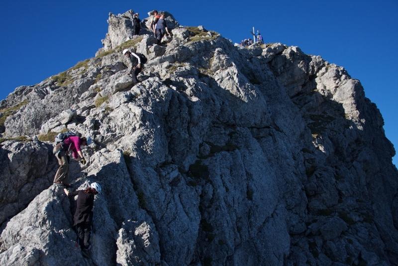 Hindelanger Klettersteig Ungesicherte Stellen : Allgäuer alpen hindelanger klettersteig focus online