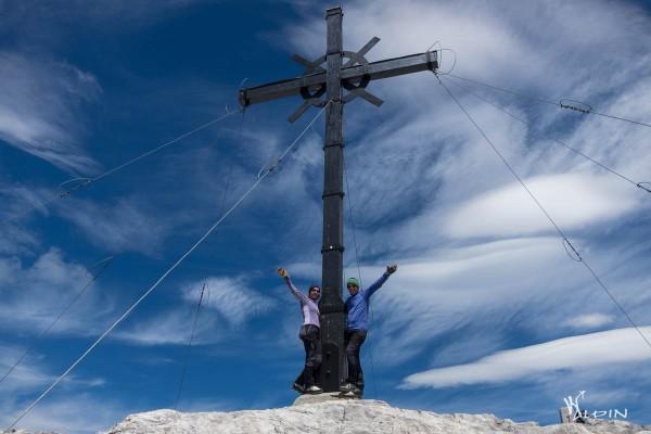 Sulzfluh Gipfelkreuz